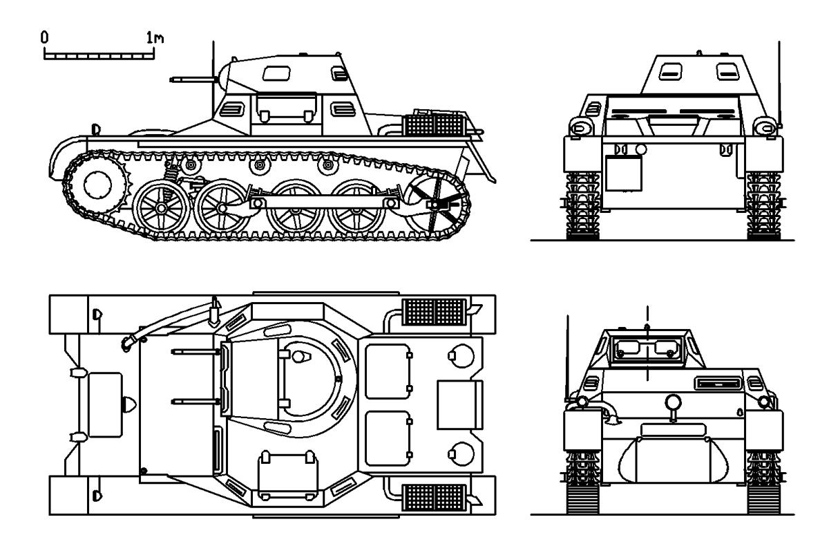 Panzerkampfwagen I Cikal Bakal Generasi Panzer Nazi