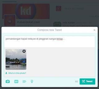 6 Langkah Upload foto ke twitter