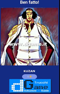 Soluzioni Guess The One Piece Character livello 30