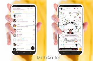 Mickey Mouse Theme For YOWhatsApp & Fouad WhatsApp By Driih Santos