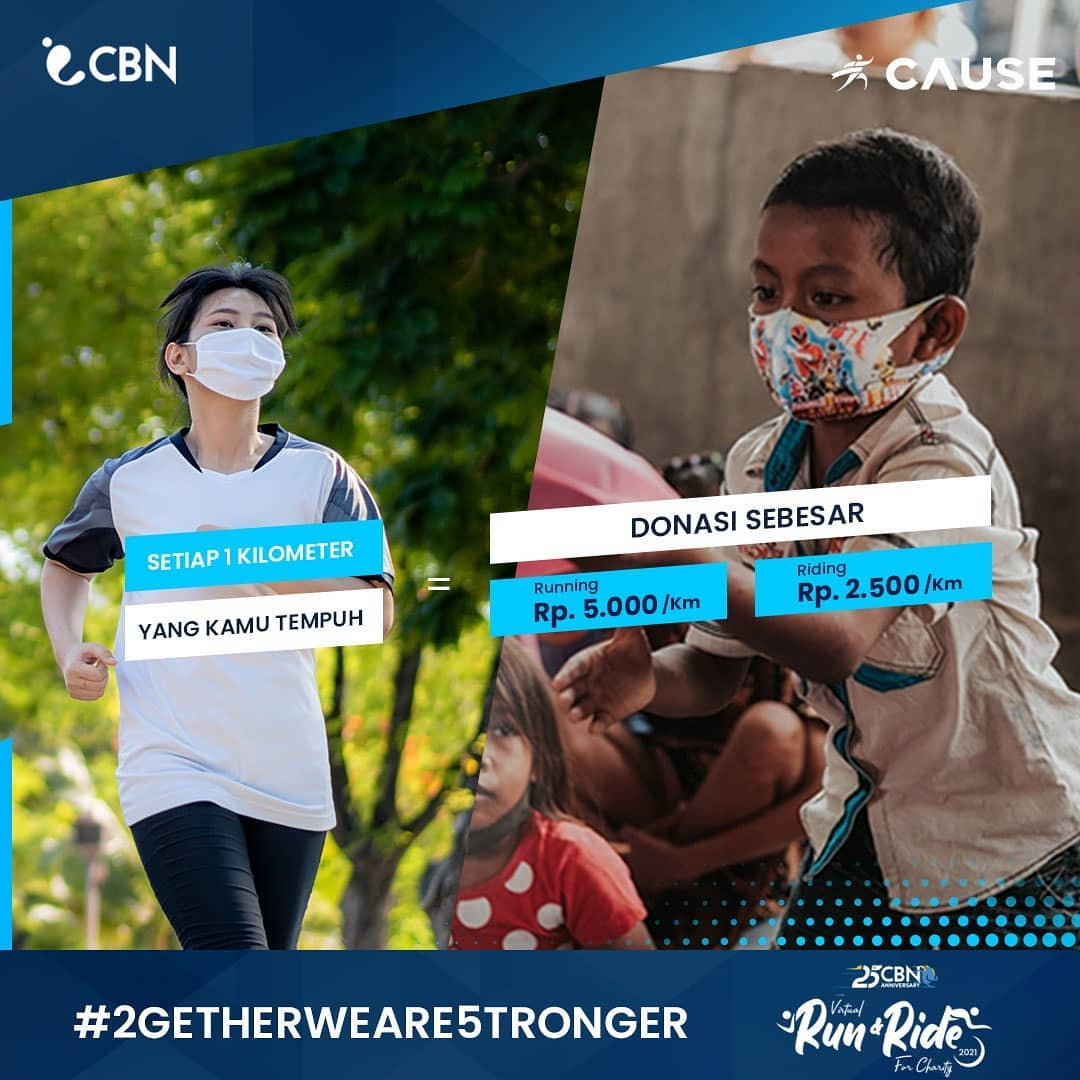 CBN Virtual Run & Ride for Charity • 2021