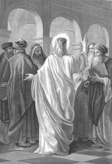 Jesus converses with the doctors of the law - Alexandre Bida