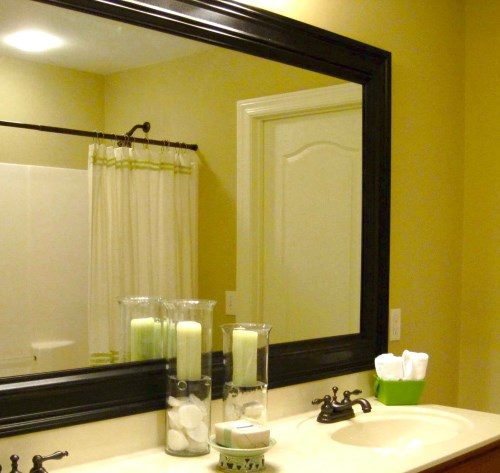 cermin untuk kamar mandi minimalis modern