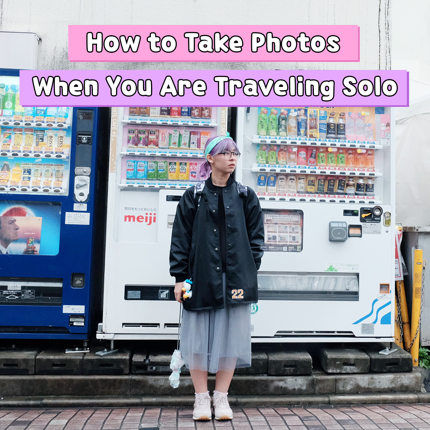 How to Take Photos When Traveling Solo - Pin 2 | www.bigdreamerblog.com