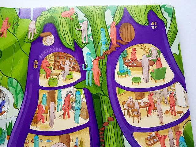 Przekroje. Owoce i warzywa - Agnieszka Sowińska - Nasza Księgarnia - książeczki dla dzieci - książeczki obrazkowe - blog książkowy - blog o książkach dla dzieci - jak namówić dziecko na 5 porcji warzyw i owoców dziennie