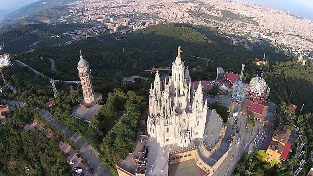 Tibidabo em Barcelona