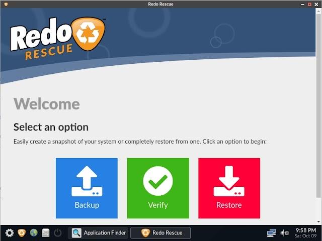 Redo Rescue 4.0.0 - Disco de rescate, copias de seguridad y mucho más