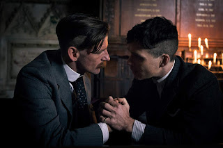 Arthur and Tommy Shelby in Peaky Blinders
