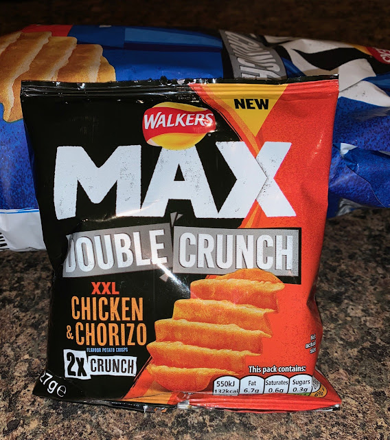 Walkers Max Double Crunch XXL Chicken & Chorizo