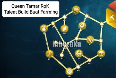 talent queen tamar rok rise of kingdoms