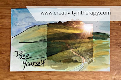 Seeking Safety Art Therapy | Creativity in Therapy | Carolyn Mehlomakulu