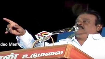 Vijayakanth udumalai speech troll