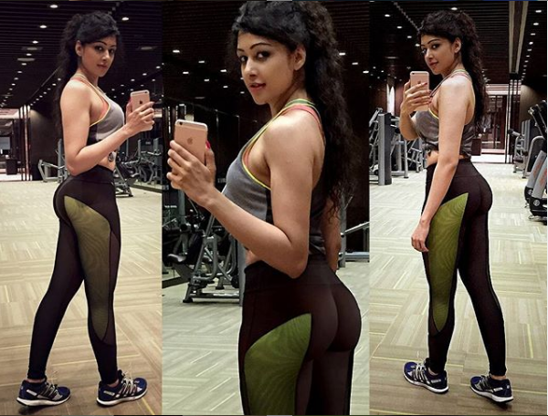 sapna vyas patel in the gym