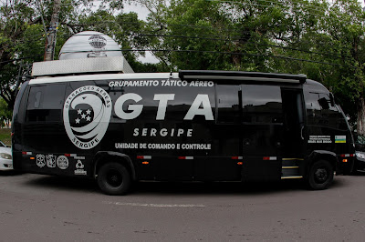 operações do Grupo Tático Aéreo(GTA)