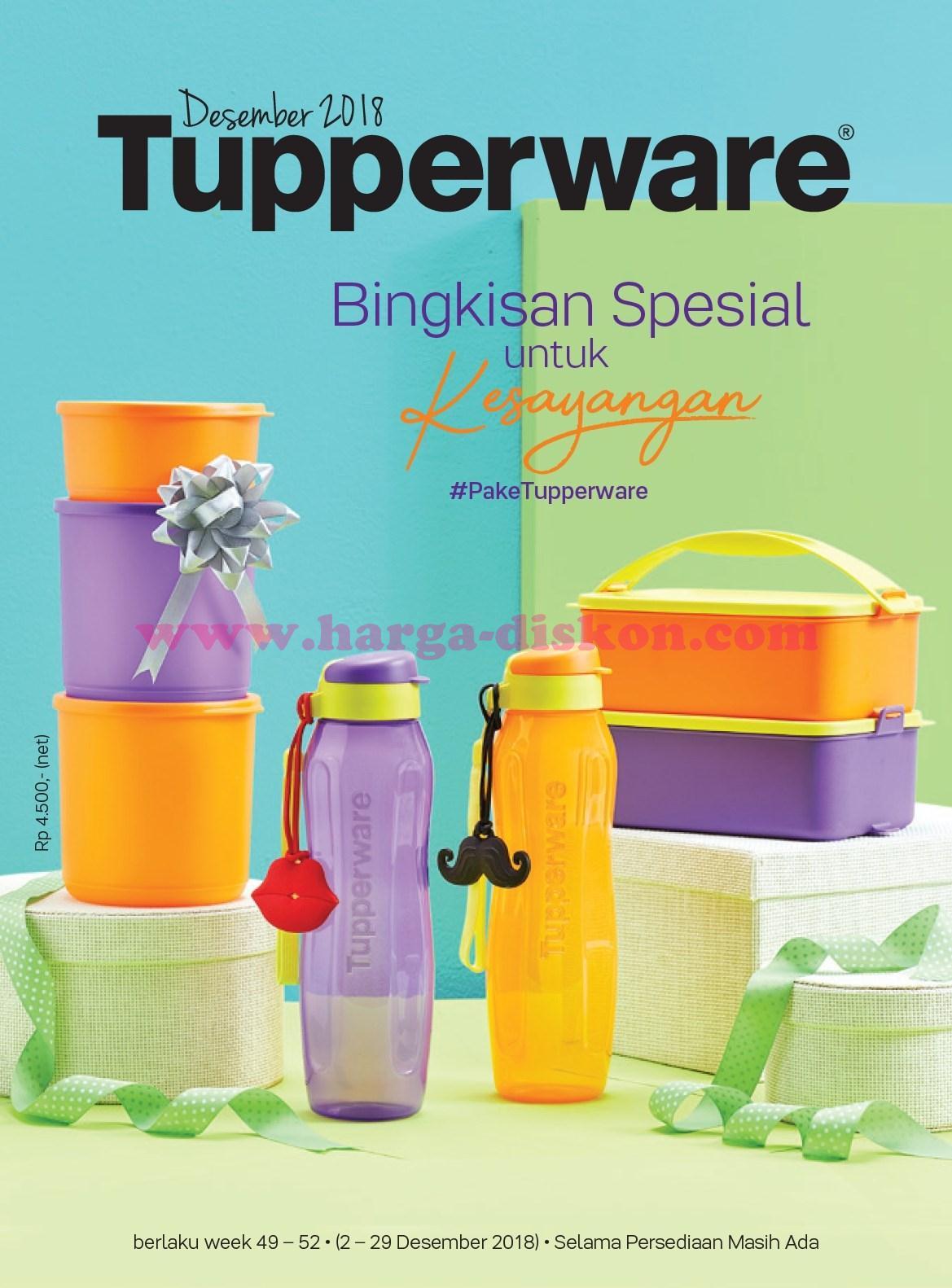 Katalog Promo Tupperware Edisi Desember 2018 Harga Promo
