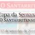 Capa de 'O Santarritense' - 17 de setembro de 2016