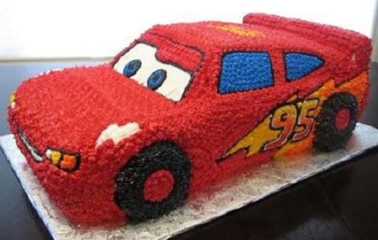 kue ulang tahun karakter mobil