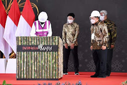 Pabrik Gula di Bombana Sulawesi Tenggara,Presiden Jokowi Resmikan