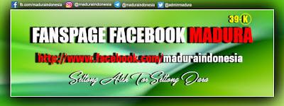 Fanspage / Halaman Facebook MADURA