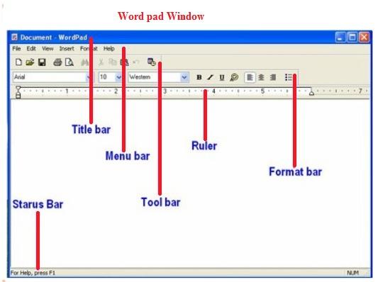 WordPad -- वर्डपैड
