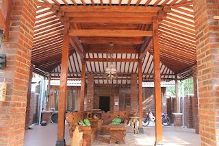 Referensi Foto Gambar Desain Rumah Jawa Joglo