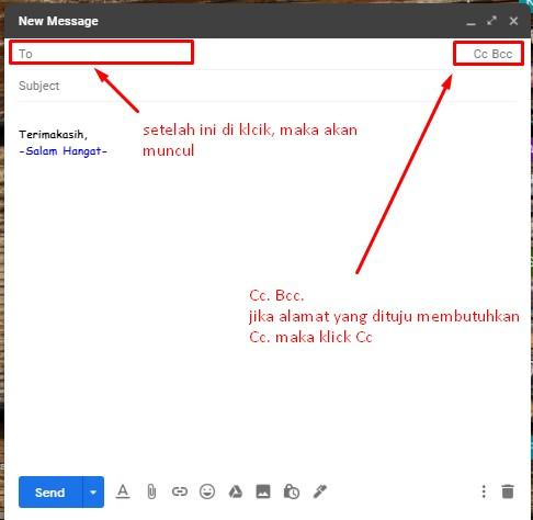 Cara Kirim Lamaran Lewat Email
