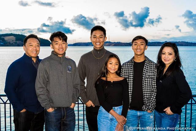 Family Portrait Photography: Benicia Photography: Putong Family