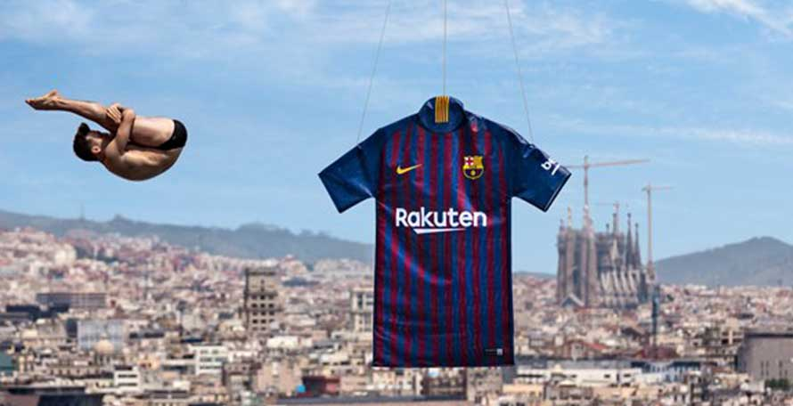 5c949537895 Barcelona 18-19 Home Kit Buy now. Free worldwide delivery on all orders