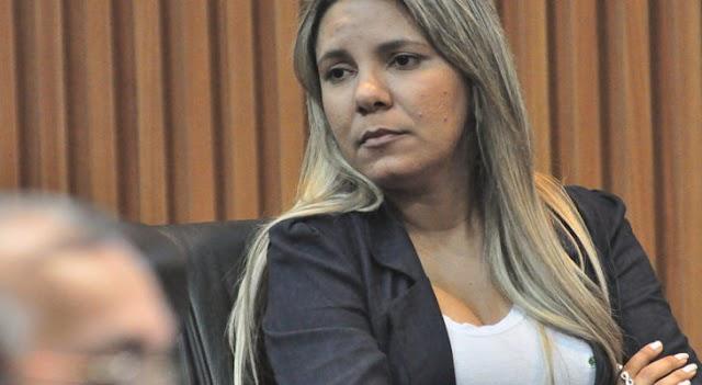"""DEPUTADA EUDIANE LEVA """"PAULADA DO GOVERNO"""""""