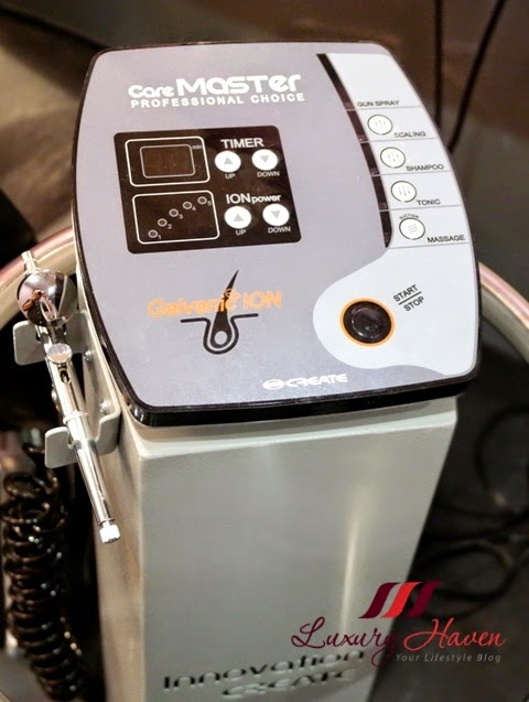 jass hair design galvanic ion scalp spa review