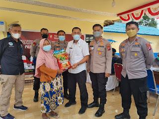 Polres Pulang Pisau,  Bekerjasama Dengan Pemkab Pulpis Memberikan Door Prize Kepada Masyarakat.
