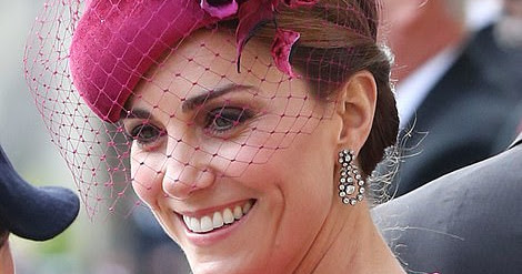 the duchess of Cambridge at the Princess Eugenie and Jack Brooksbank Royal Wedding