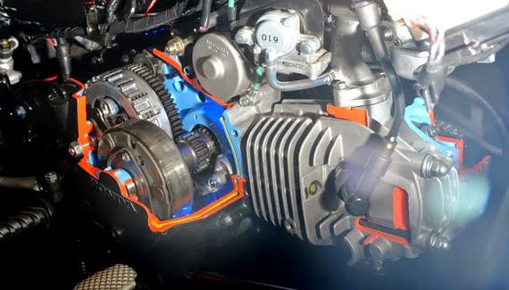 Rahasia! Modifikasi Mempercepat motor pabrikan Honda Supra X 125