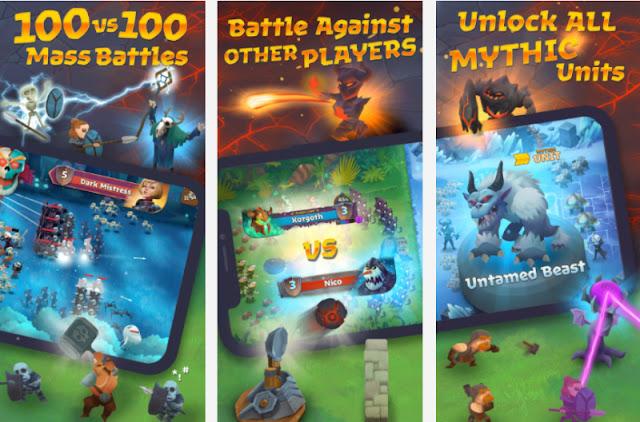 تحميل لعبة battle legions آخر اصدار للاندرويد والايفون