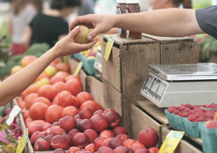 Comprar en el mercado sin salir de casa