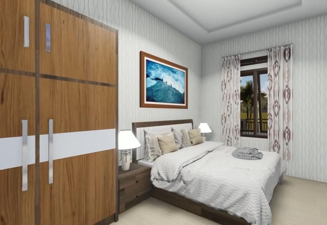 Desain Dan Denah Rumah Terbaru Yang Trend Di Pedesaan Ukuran 9 X