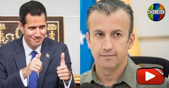 Tareck el Aissami culpa a Guaidó por la explosión de la planta de El Tejero