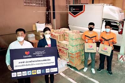 """Lazada ส่งต่อพลังความดีผ่านโครงการ """"LazadaForGood ให้ทุกใจได้ทำดี"""" จับมือพันธมิตรมอบความช่วยเหลือให้คนไร้บ้านผ่านมูลนิธิอิสรชน พร้อมบริจาคเงินให้โรงพยาบาล 1.5 ล้านบาท"""