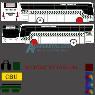Livery bus cbu titanium trisakti