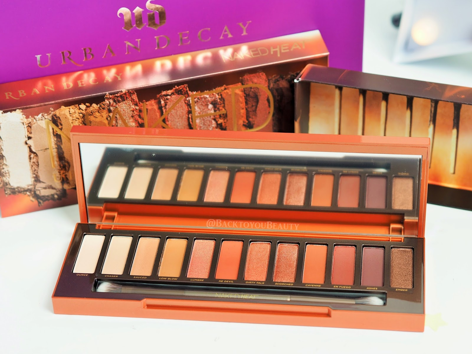 Tried And Tested  Urban Decay Naked Heat Palette-3116