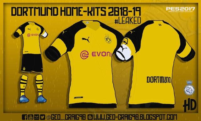 Kits Season 2018-2019 PES 2017