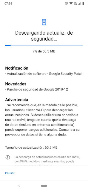 Nokia 6.2 receiving December 2019 Android Security patch