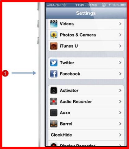 How to import facebook contacts
