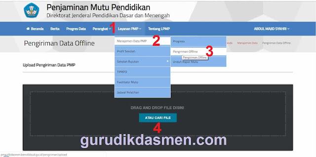 Untuk kirim ulang pemrosesan rapor mutu data PMP, dapat dilakukan dengan cara sebagai berikut:
