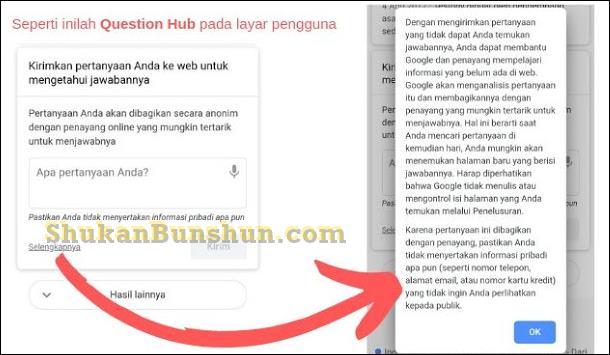 Question Hub Artinya Memanfaatkan Pertanyaan Google