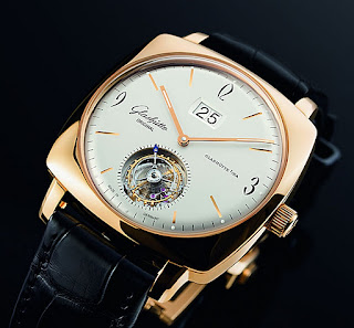 Montre Glashütte Original Sixties Square Tourbillon référence 94-12-01-01-04