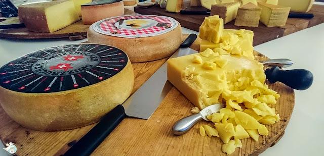 Schweizer Käse Platte