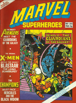 Marvel Super-Heroes #361, the Avengers and Guardians of the Galaxy
