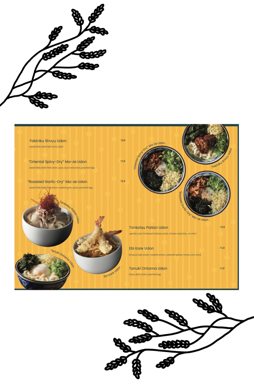 omote menu 16