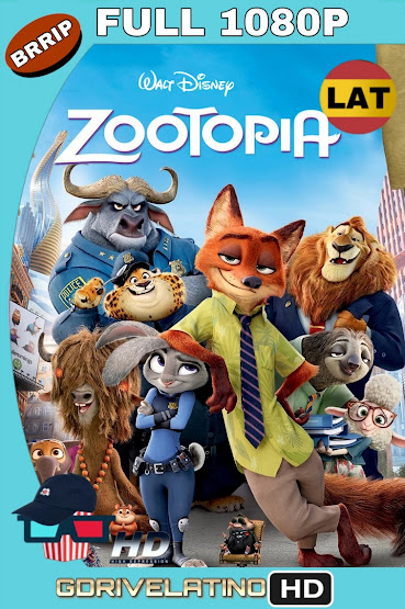 Zootopia (2016) BRRip 1080p Latino-Ingles MKV